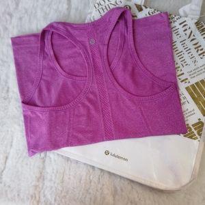 LULULEMON tank top in violet Size 6